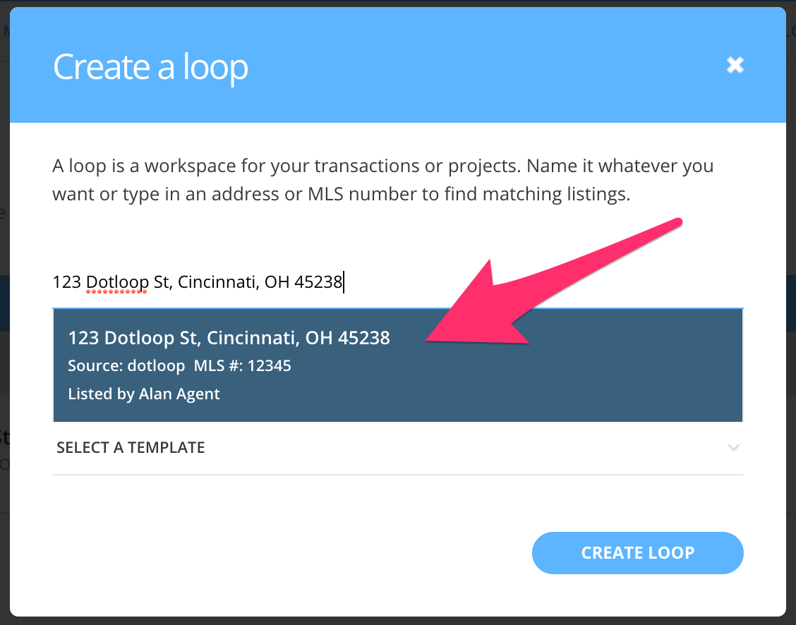 AutoFill - Linking To A Listing – dotloop support