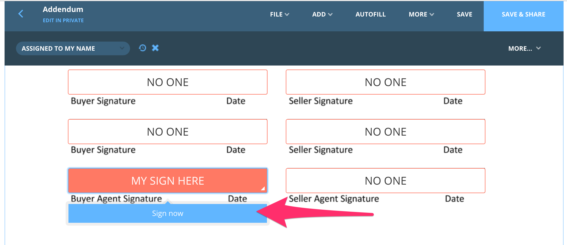 Understanding Signing – dotloop support